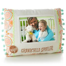 Certified Grandchild Spoiler Photo Pillow, , large