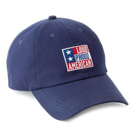 Loud Proud and American Navy Baseball Cap, , large