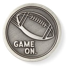 Game on Football Collectible Token, , large