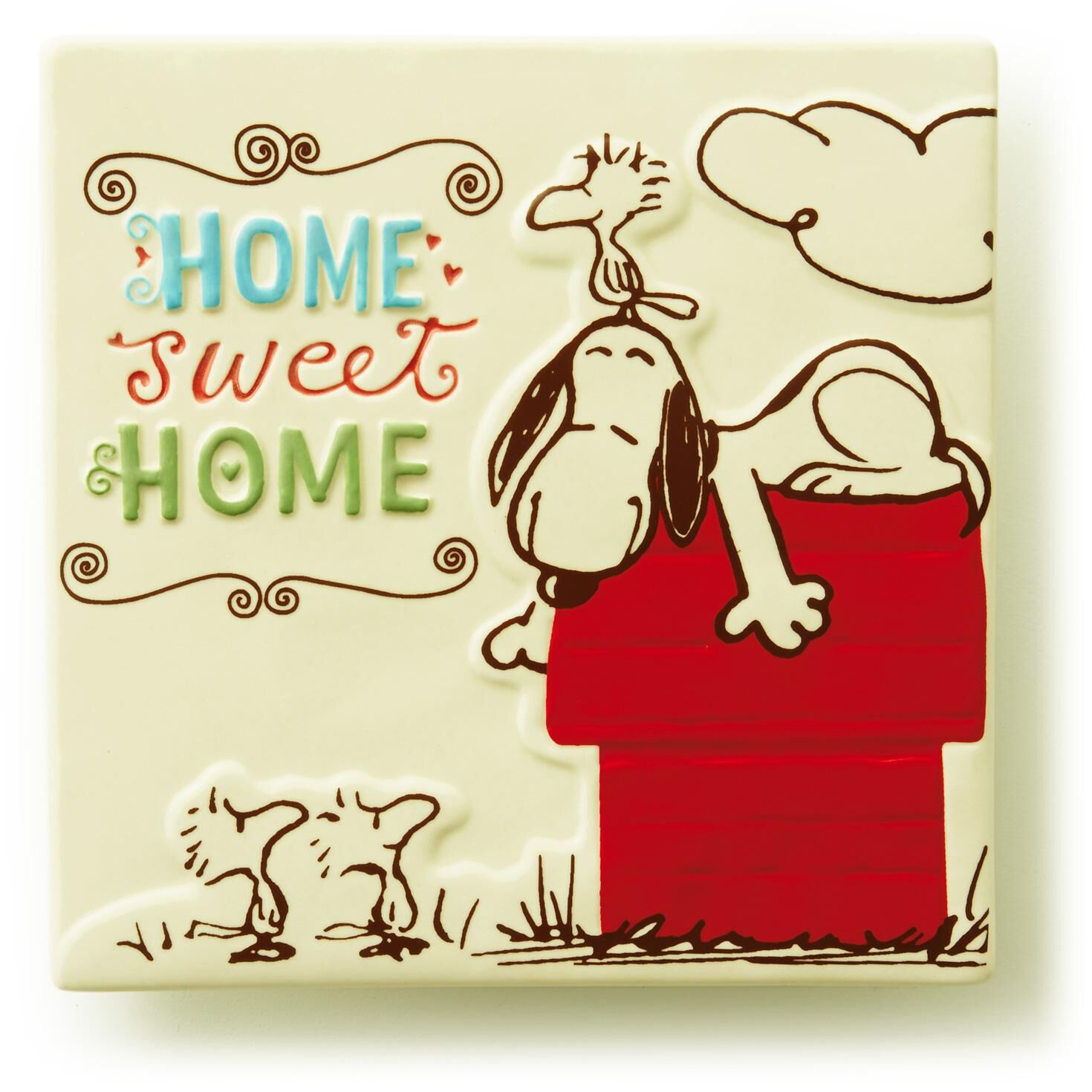 Home sweet home ceramic tile decorative accessories for Ome images