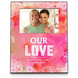 Mom's Love Personalized 4x6 Picture Frame, , large