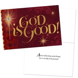 God Is Good Boxed Christmas Cards, , large