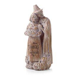 Pilgrim Couple Figurine, , large