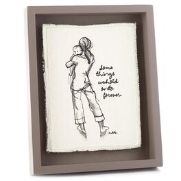 Some Things Embroidered Frame Art, , large