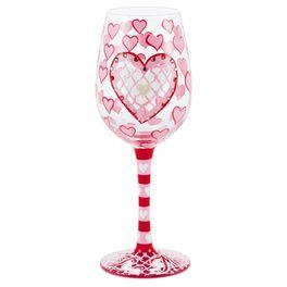 Be Mine Lolita® 15-oz. Wine Glass, , large