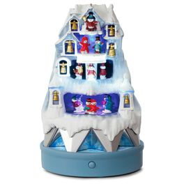 Winter Wonderland Musical Ice Castle Ornament With Light and Motion, , large