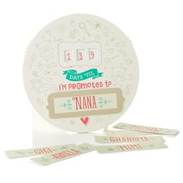 Promoted-to-Grandma Countdown Calendar, , large