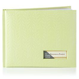 Seafoam Vine Guest Book, , large