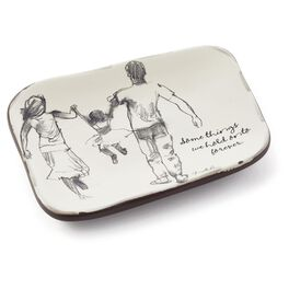 Some Things Family Ceramic Tray, , large