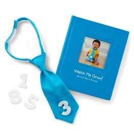 Blue My First Year Monthly Photo Kit and Album, , large