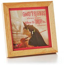 Good Friends Wood Framed Print, , large