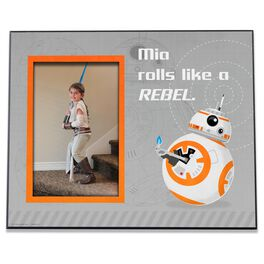 Star Wars™ BB8 Personalized 4x6 Picture Frame, , large