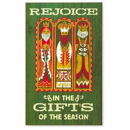 Three Kings Signs of the Season Decorative Wall Hanging, , large
