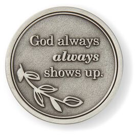 God Is Always There Collectible Token, , large