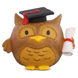 Graduation Owl Figurine, , large