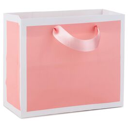 Shell Pink Small Gift Bag, , large
