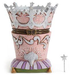 THE WIZARD OF OZ™ Glinda's Crown Treasure Box, , large