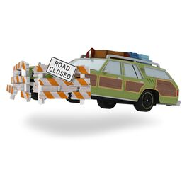 NATIONAL LAMPOON'S VACATION Family Truckster Takes Flight Ornament With Sound, , large