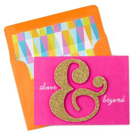 Above & Beyond Thank You Notes, , large