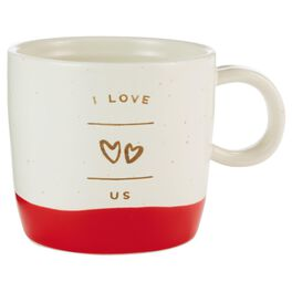 I Love Us Heart Mug, , large