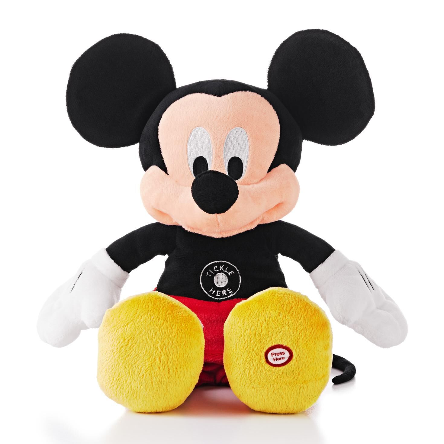 Totally Ticklish Mickey Mouse