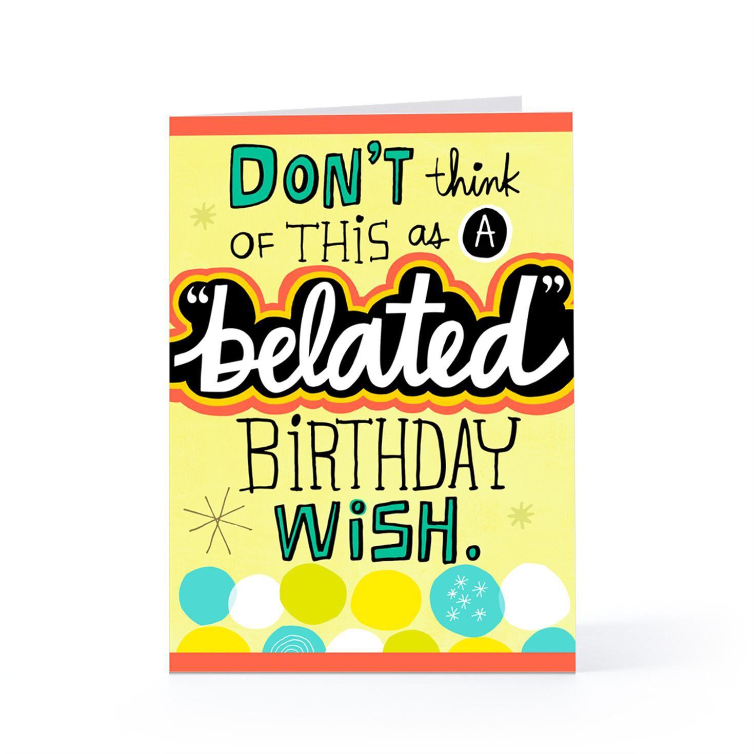 Free belated birthday ecards hallmark