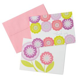 Floral Assortment Thank You Notes, , large