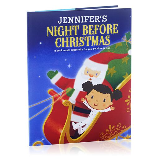 Night Before Christmas Personalized Book