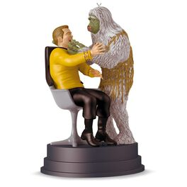 """STAR TREK™ """"The Man Trap"""" Kirk and Salt Monster Ornament With Sound, , large"""