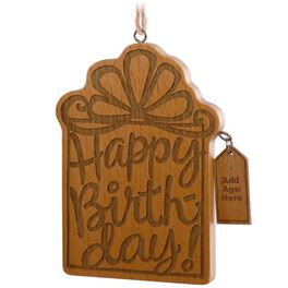 Milestone Birthday Ornament, , large