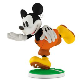 Touchdown Mickey 1932 Football Ornament, , large