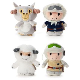 itty bittys® Star Wars™ Hoth Collector Set with Luke Skywalker™, Han Solo™, Tauntaun™ and Wampa™ Stuffed Animals, , large