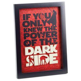 Star Wars™ Dark Side Framed Print, , large