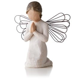 Willow Tree® Angel of Prayer Figurine, , large
