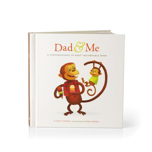 Dad & Me Conversations to Keep™ Recordable Book