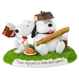 Snoopy and Brother, Olaf, Figurine, , large