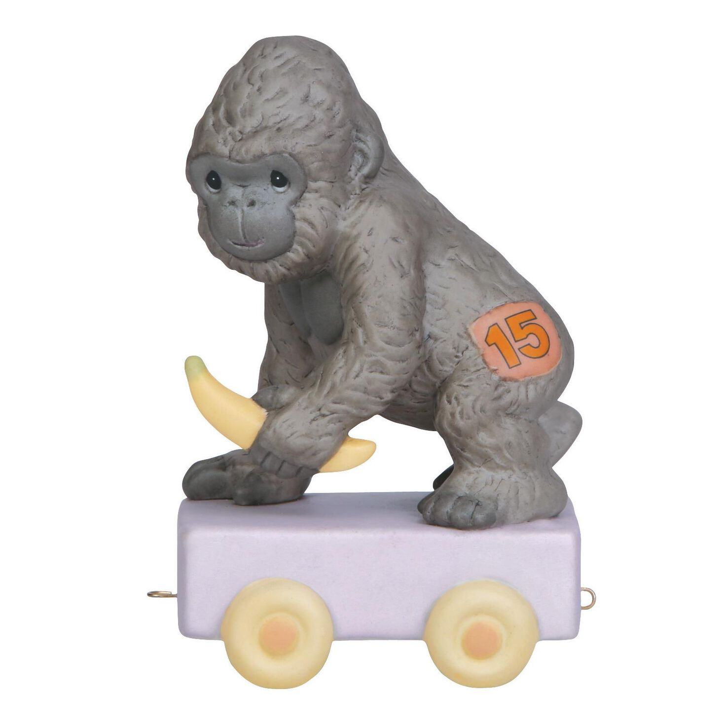Precious moments it 39 s your birthday go bananas gorilla figurine age 15 figurines hallmark - Gorilla figurines ...