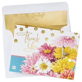 Bright Blooms Thank You Notes by Marjolein Bastin, , large