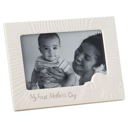 First Mother's Day Ceramic 4x6 Picture Frame, , large
