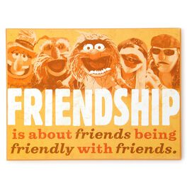 The Muppets Electric Mayhem Wooden Plaque, , large