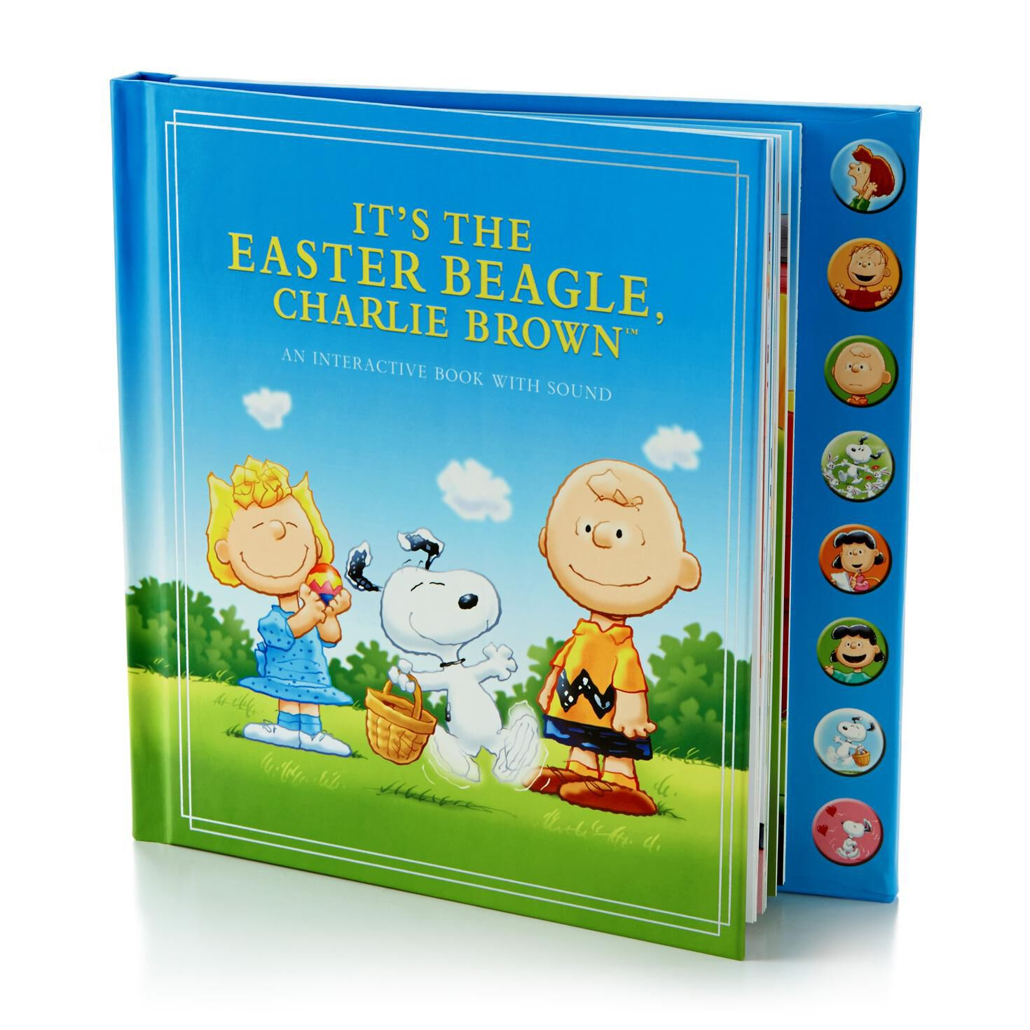 It's the Easter Beagle, Charlie Brown Interactive Book with Sound