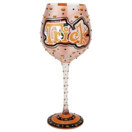 Trick or Treat 15-oz Lolita® Wine Glass, , large