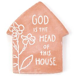 God Is the Head of This House Magnet, , large