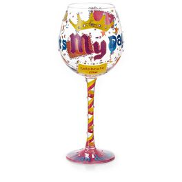 It's My Day Wine Glass, , large
