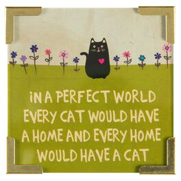 Natural Life Corner Magnet Perfect World Cat, , large