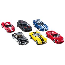 Hallmark Garage Montage Assortment of Pull Back Action Cars With Assorted Models and Colors, , large