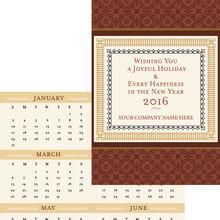 Border Calendar & Card