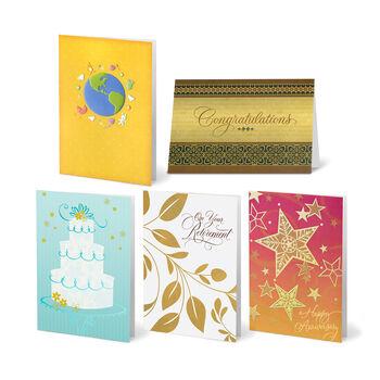 25 Card Mixed Office Assortment