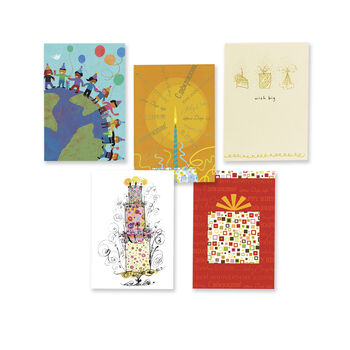 50 Cards Birthday Collection