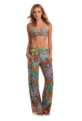 Madagascar Paisley Wide Leg Pants